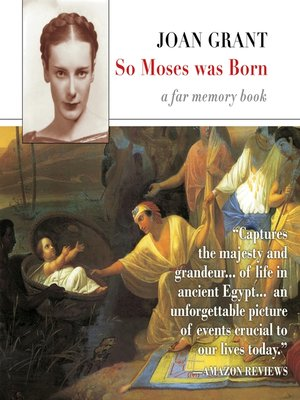cover image of So Moses Was Born