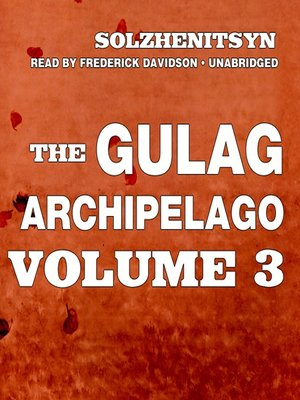 cover image of The Gulag Archipelago, Volume III