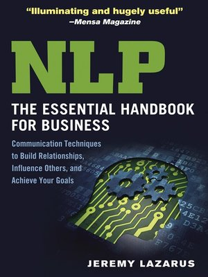 cover image of NLP, the Essential Handbook for Business