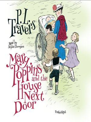 cover image of Mary Poppins and the House Next Door