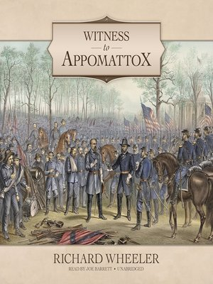 cover image of Witness to Appomattox