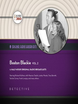 cover image of Boston Blackie, Volume 2