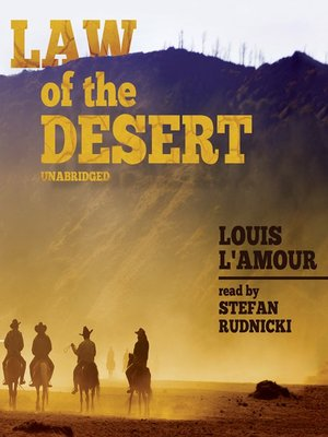 cover image of Law of the Desert