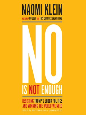 cover image of No Is Not Enough