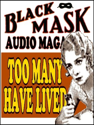 cover image of Too Many Have Lived