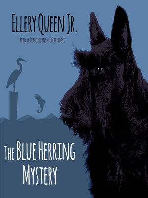 cover image of The Blue Herring Mystery