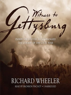 cover image of Witness to Gettysburg