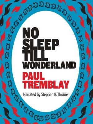 cover image of No Sleep Till Wonderland
