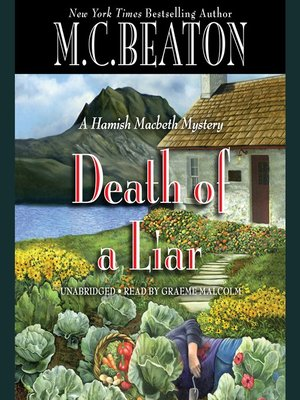 cover image of Death of a Liar