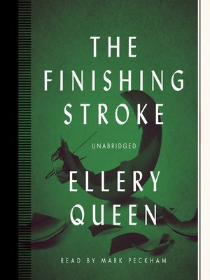 cover image of The Finishing Stroke