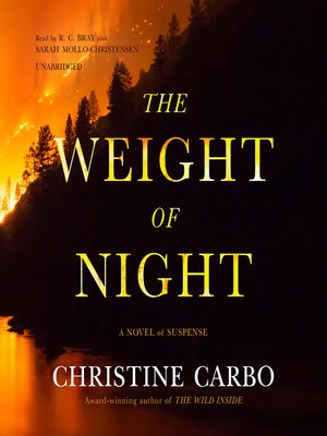 cover image of The Weight of Night