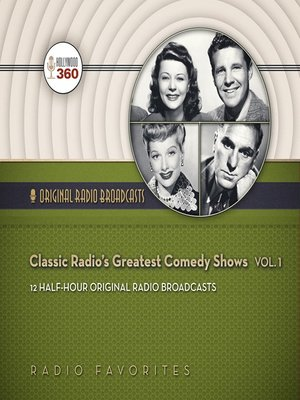 cover image of Classic Radio's Greatest Comedy Shows, Volume 1