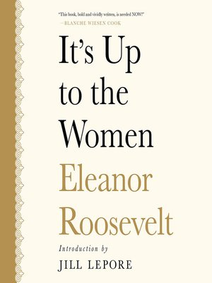cover image of It's Up to the Women