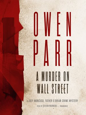 cover image of A Murder on Wall Street