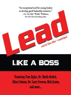 cover image of Lead Like a Boss
