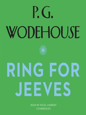 cover image of Ring for Jeeves