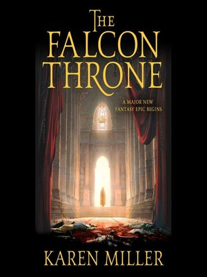 cover image of The Falcon Throne