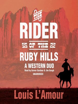 cover image of The Rider of the Ruby Hills