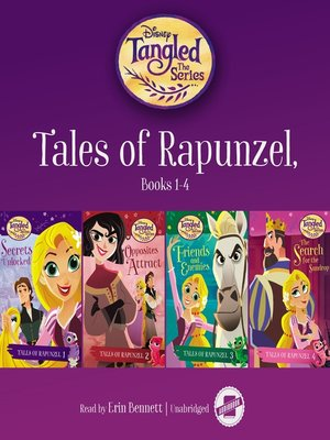 cover image of Tales of Rapunzel, Books 1-4