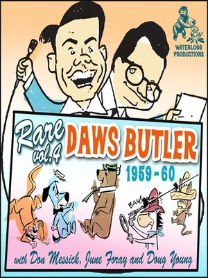 cover image of Rare Daws Butler, Volume 4