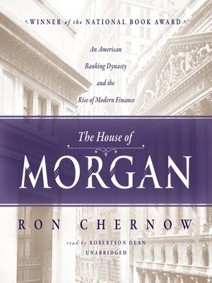 cover image of The House of Morgan
