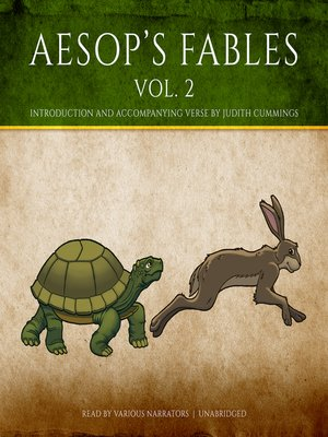 cover image of Aesop's Fables, Volume 2