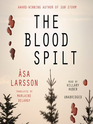 cover image of The Blood Spilt