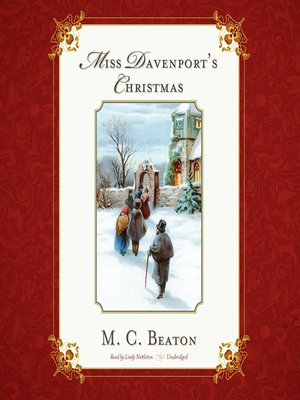 cover image of Miss Davenport's Christmas