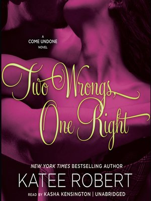 cover image of Two Wrongs, One Right