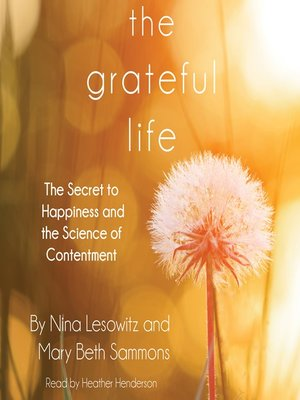 cover image of The Grateful Life