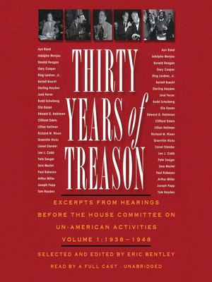 cover image of Thirty Years of Treason, Volume 1