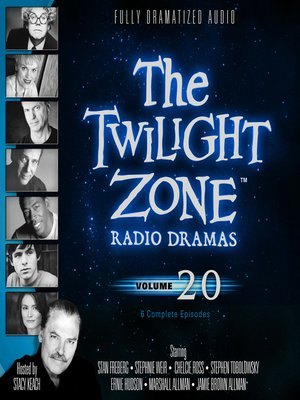cover image of The Twilight Zone Radio Dramas, Volume 20