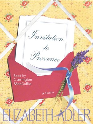 cover image of Invitation to Provence