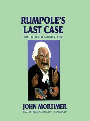 cover image of Rumpole's Last Case