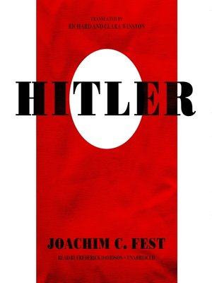 cover image of Hitler