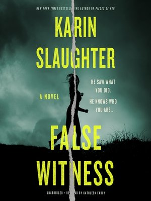 cover image of False Witness