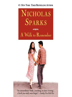 A Walk To Remember Book Ebook