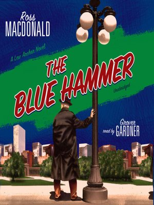 cover image of The Blue Hammer