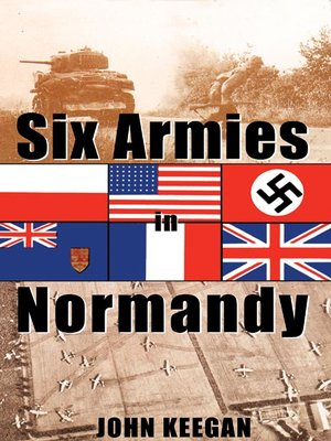 cover image of Six Armies In Normandy
