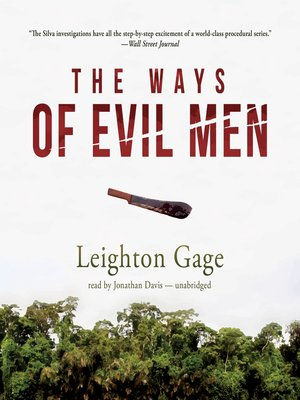 cover image of The Ways of Evil Men