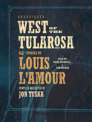 cover image of West of the Tularosa