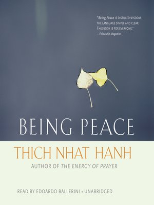 cover image of Being Peace