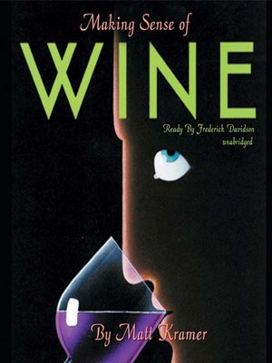 cover image of Making Sense of Wine