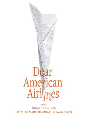 cover image of Dear American Airlines