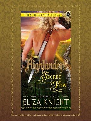 cover image of The Highlander's Secret Vow