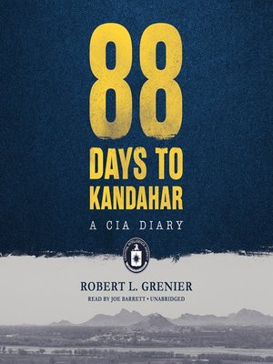 cover image of 88 Days to Kandahar