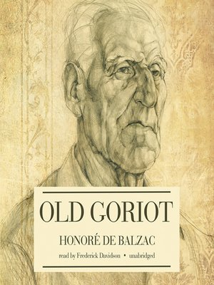 cover image of Old Goriot