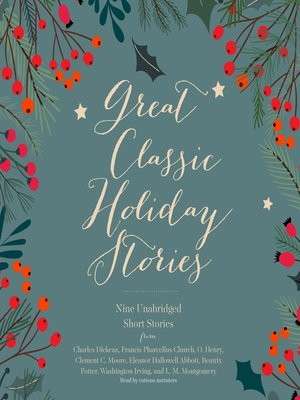 cover image of Great Classic Holiday Stories