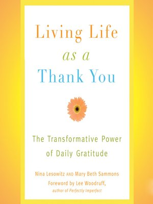 cover image of Living Life as a Thank You