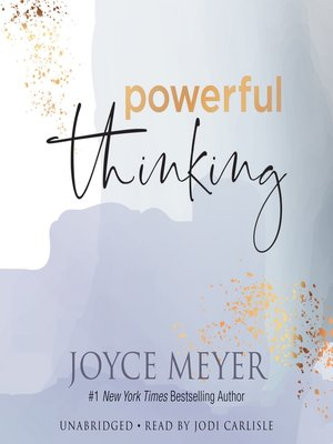 cover image of Powerful Thinking